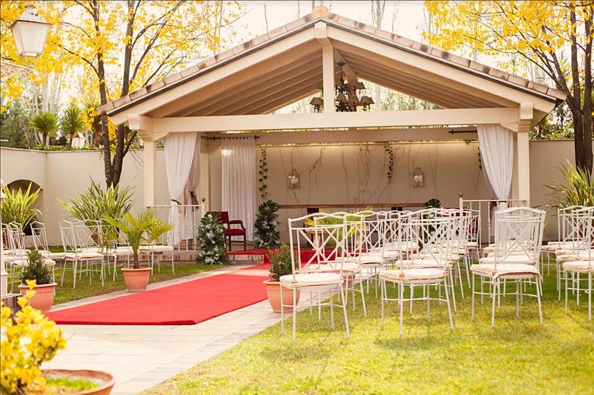 Capilla de ceremonias en Villa Laureana