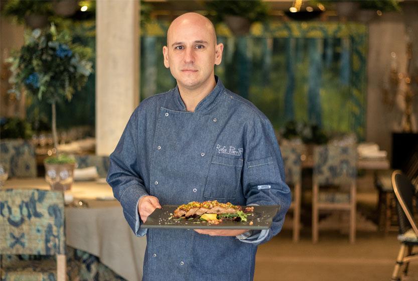 Rafa Parro chef Villa Laureana