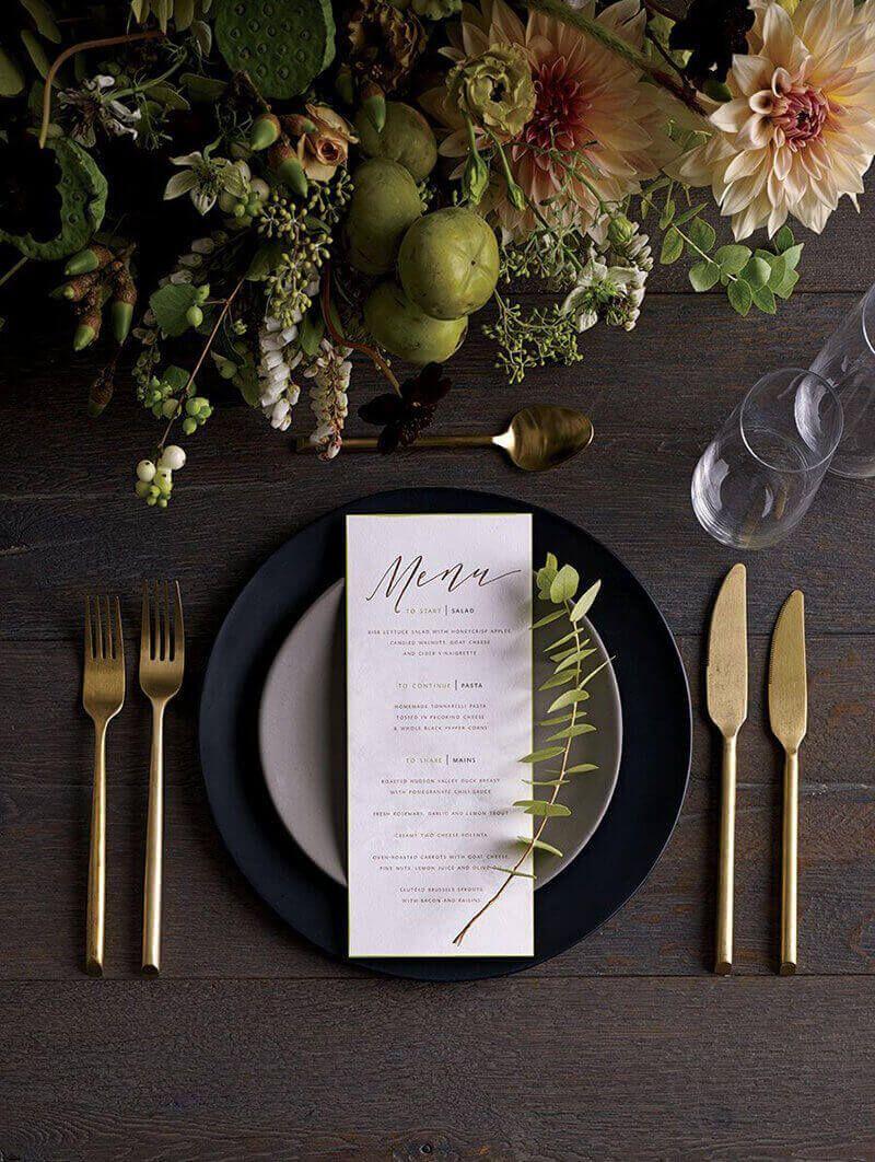 menus de boda