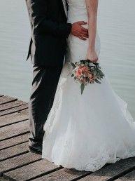 pareja novios boda
