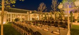 bodas al aire libre en Villa Laureana