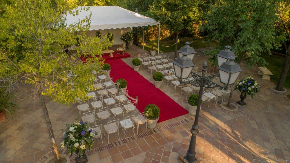 boda campestre en Madrid