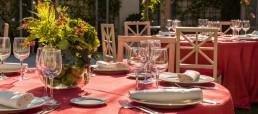 decoración floral finca de bodas Madrid