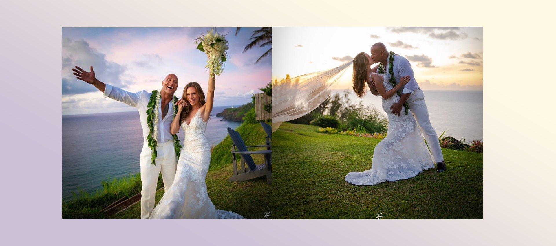 boda de The Rock
