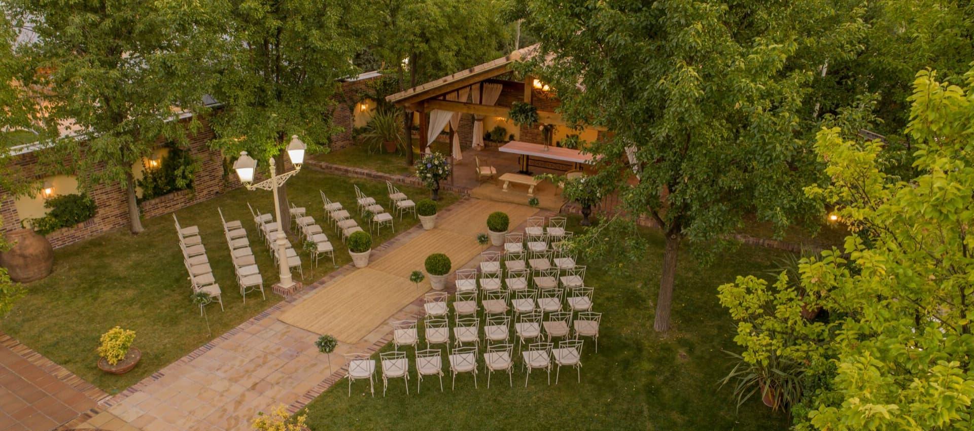bodas en jardines en madrid