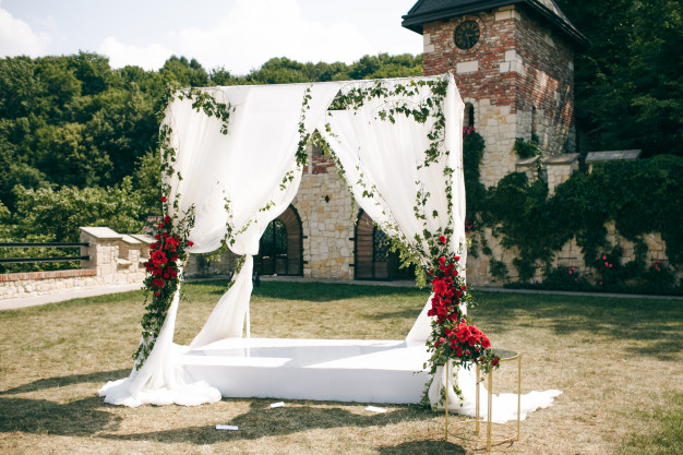 como hacer un photocall para una boda