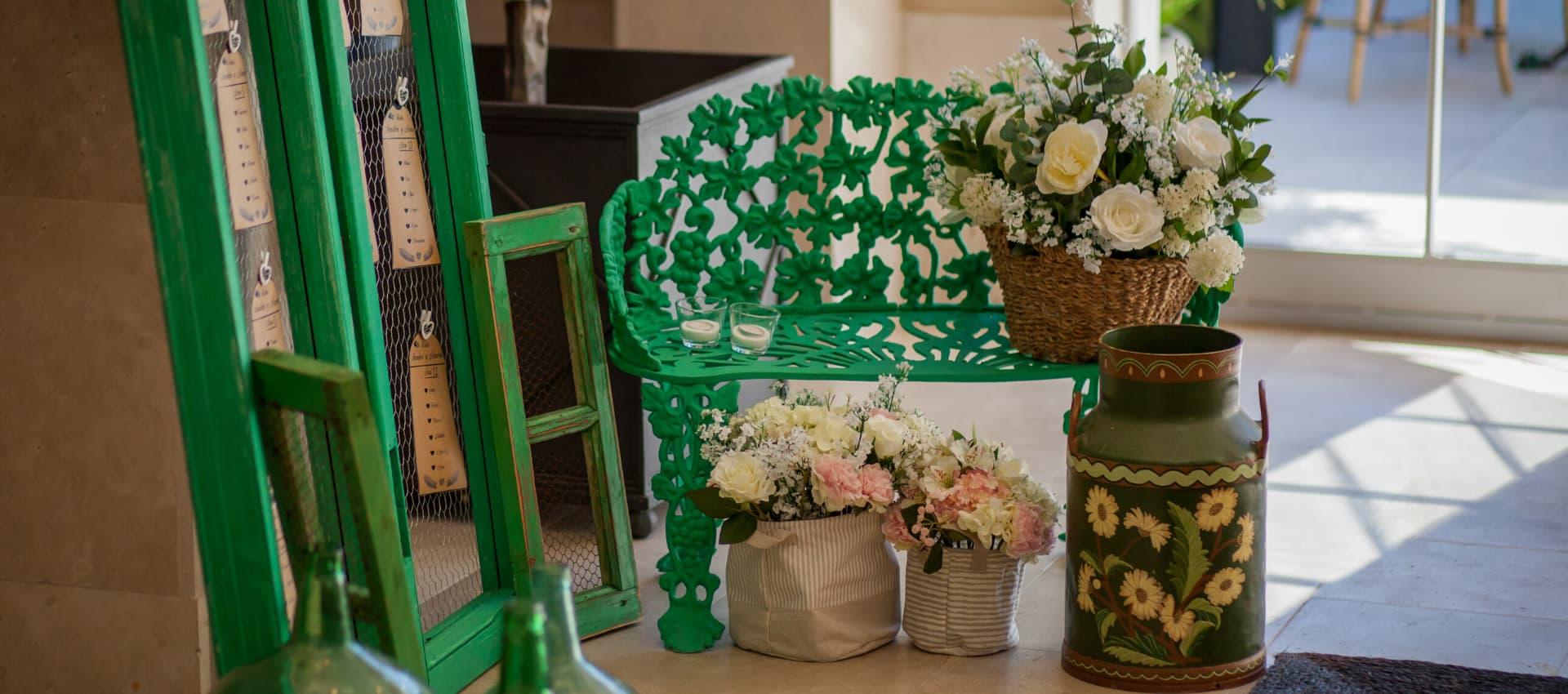decoración bodas celebradas en villa laureana