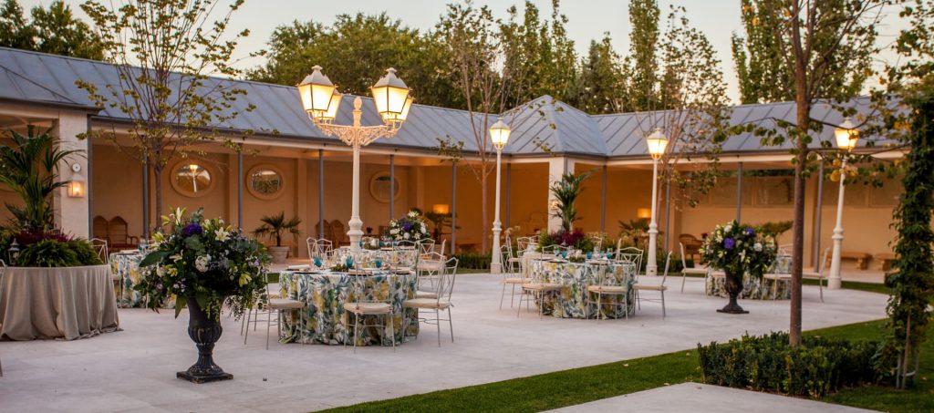 decoracion de jardines para bodas