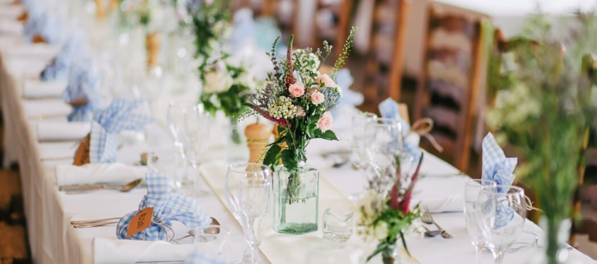 banquetes de boda en Madrid