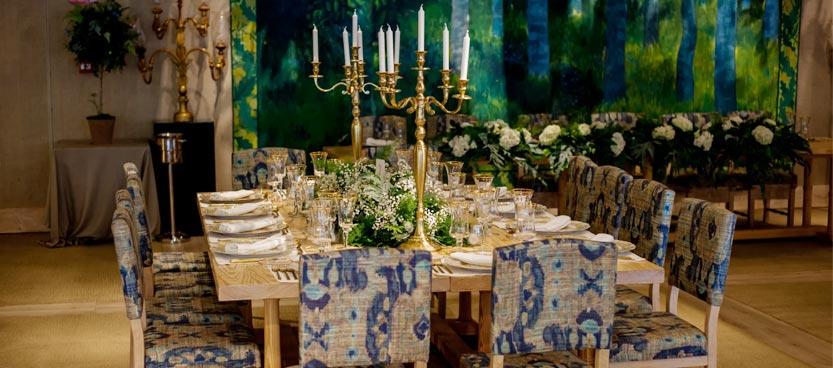 Candelabros para decorar boda