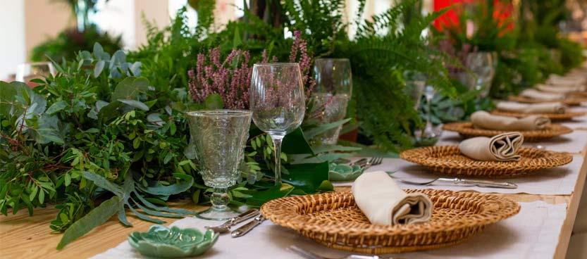 mesa nupcial decorada villa laureana