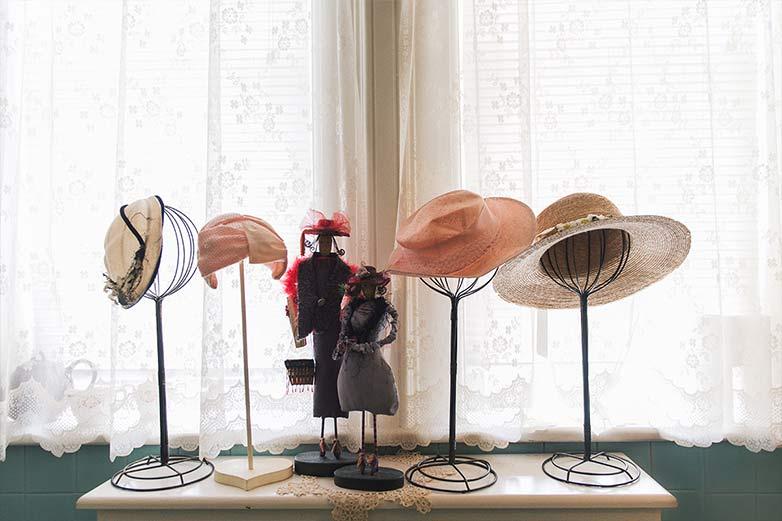 sombreros y tocados de boda