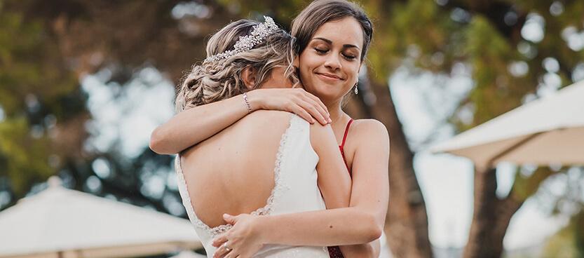 dama de honor en boda villa laureana