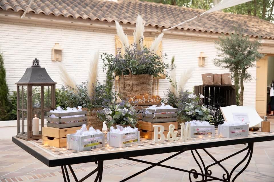 candy bar en boda villa laureana