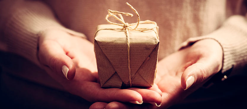 envoltorio sostenible regalos invitados boda